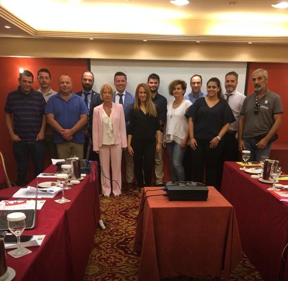 ΑΡΤΕΜΙΣ: 1η συνάντηση του έργου 20 Σεπτεμβρίου 2018, Αθήνα