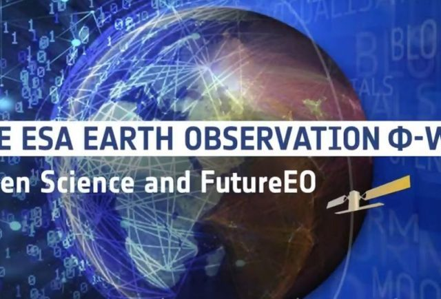 Participation in European Space Agency's Φ-week 9-13 September 2019, Frascati, Italy