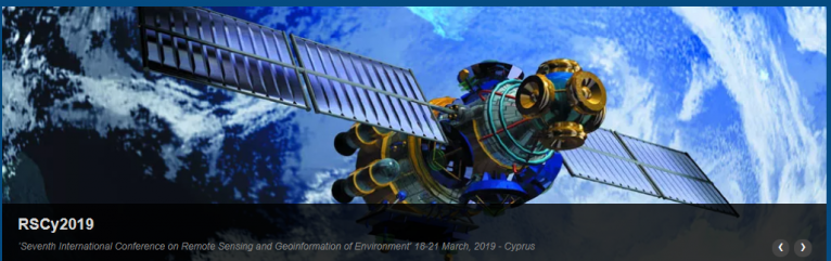"Presentation of ΑRTEMIS project works at the 7th International Conference on Remote Sensing and Geoinformatics of Environment ""RSCy2019, Pafos, Cyprus"
